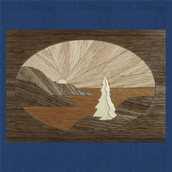 """Marquetry Project Kit - 5""""x 7"""" Pacifica"""