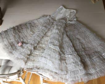 Vintage Tulle Skirt Full Swing Slip