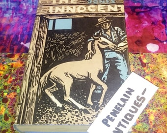 Vintage Book // The Innocent by Madison Jones, Vintage Books, London, First Edition, 1957 - #515c