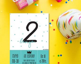 Printable invitations for children's birthday
