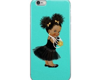Girls and Pearls |  iPhone Case | Teens | Tweens | Kids | Inspirational | Motivational | Empowering | Electric Belle Designs