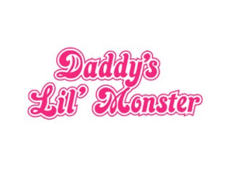 Daddy's Little Monster HARLEY QUINN Inspired Quality Vinyl Decal, Suicide Squad, DC Comics, Yeti Decal, Car Decal