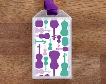 Luggage Tag or Instrument Case ID for Violin players