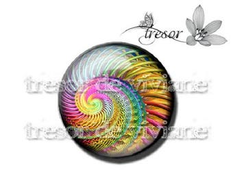 PA437 manual glasses Retro, snails, Swirl, spiral cabochons
