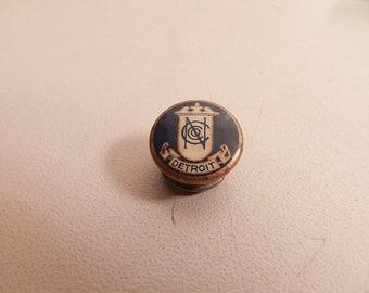 vintage detroit nc pin