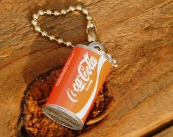Vintage 70s Coca Cola Coke Unused Keychain Last One