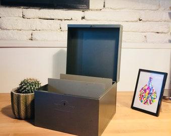 Large box metal sheet brand FLAMBO. Green-gray color