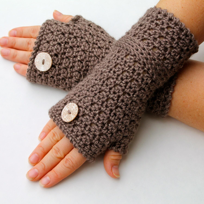 crochet pattern fingerless gloves crochet pattern pdf file