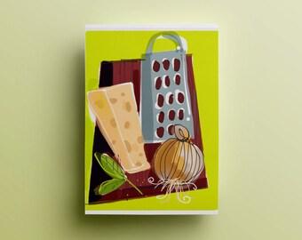 Digital kitchen art, printable kitchen art, kitchen illustration, kitchen print, digital kitchen wall decor, kitchen art