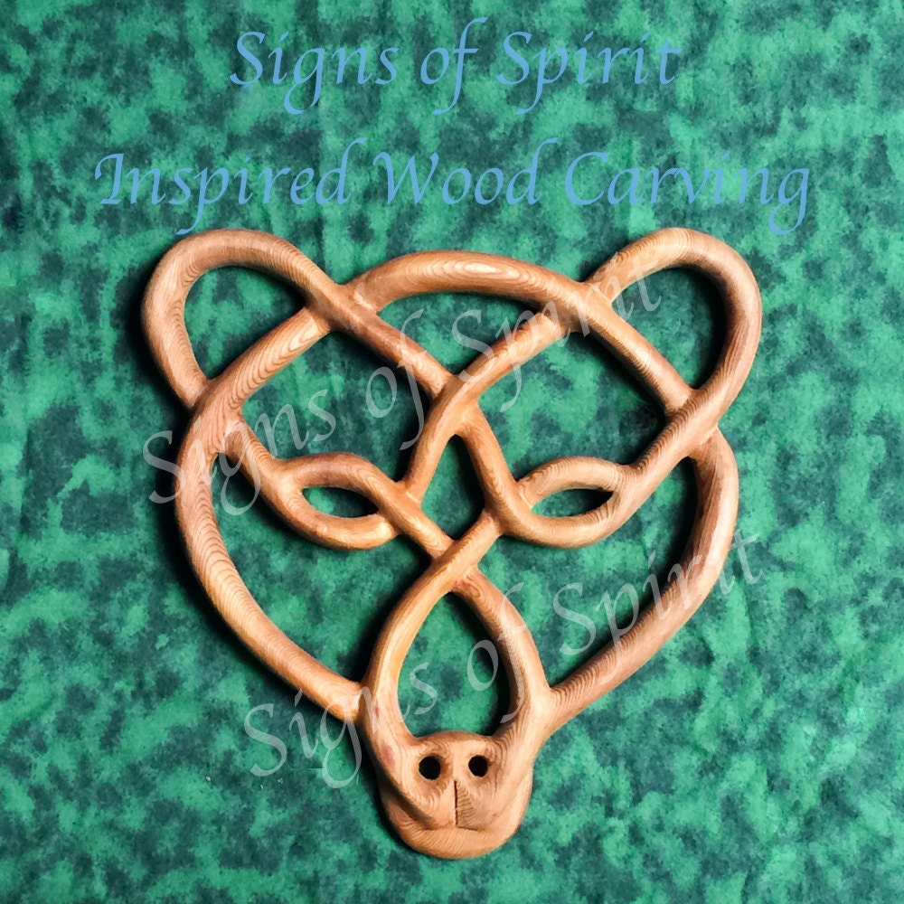 Celtic bear knot strength stamina balance protection symbol of zoom buycottarizona