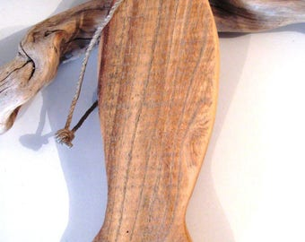 Deco Navy. Fish placed or suspended. Raw Driftwood