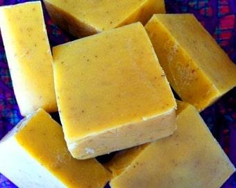 Lemongrass Sage soap - Handmade soap with lemongrass and clary sage essential oils - natural lemongrass soap