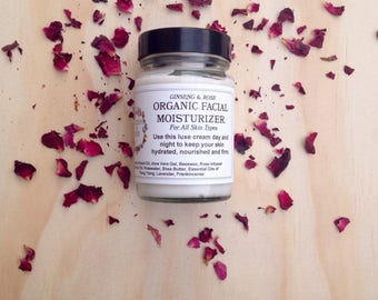 Rose And Ginseng Face Cream