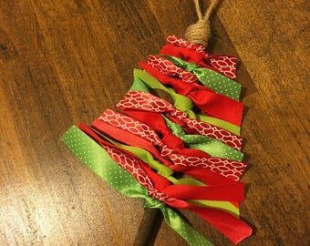 Ribbon Tree Christmas Ornament
