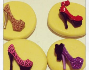 High Heel Shoe Set Molds Silicone