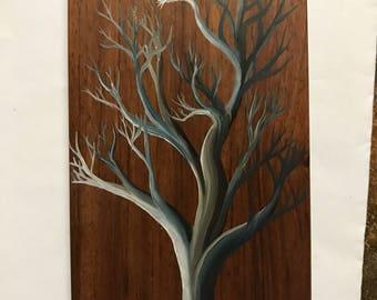 Night Fall Tree