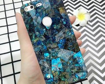BLUE MARBLE case, pixel case, pixel xl case, marble case, marble pixel case, pixel, case marble texture case, marble pixel case granite case