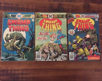 1975-76 Swamp Thing #20, 23 and #24/ DC Comics/ J/ Choose One or All Three for a Discounted Price!!!