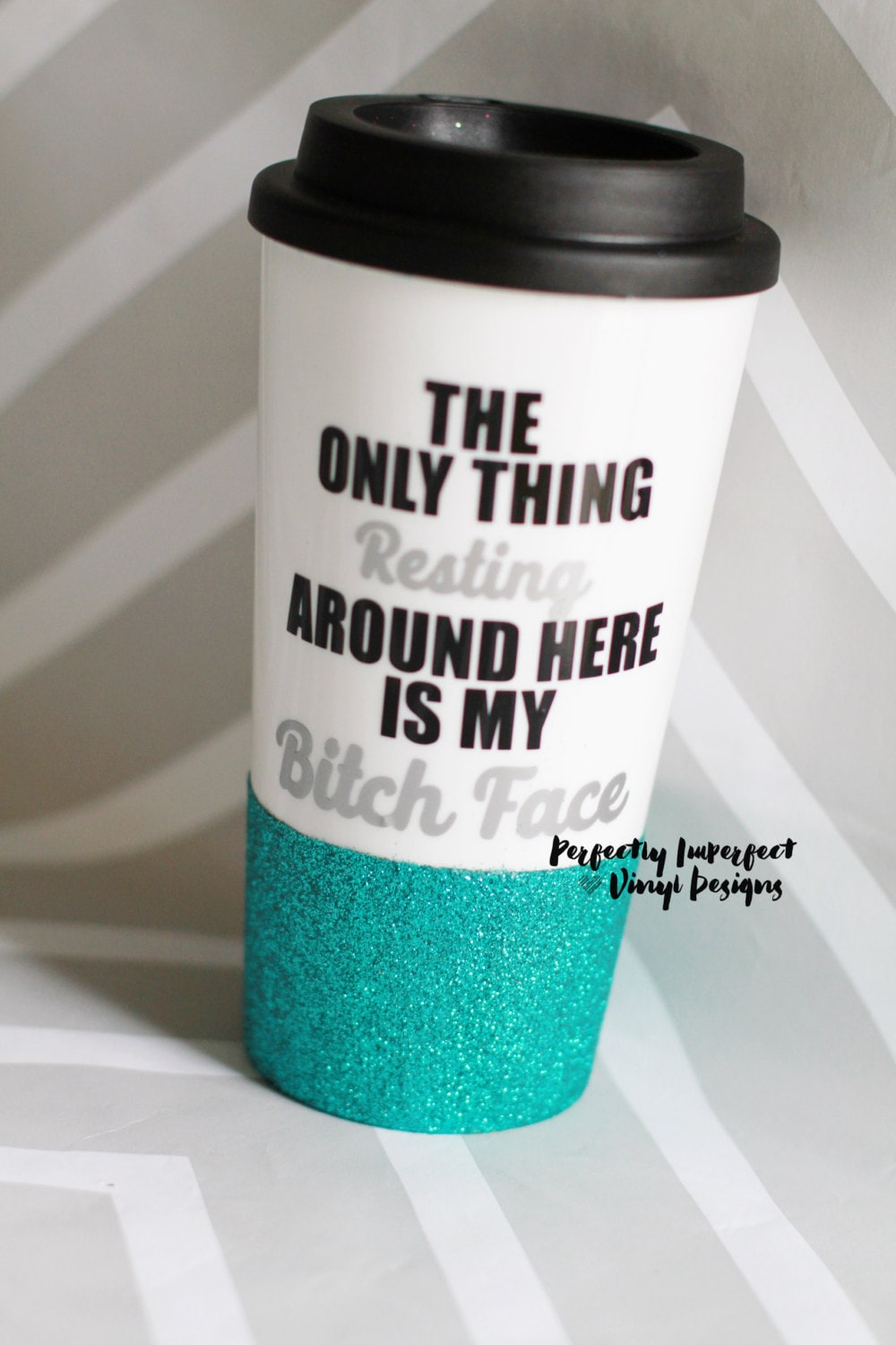 Glitter Dipped Travel Coffee Mug Travel Coffee Mug Coffee