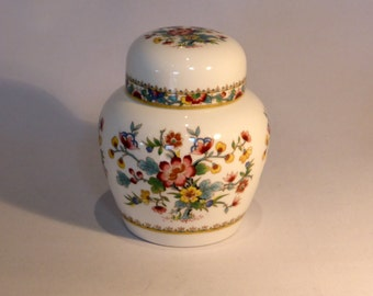 Coalport Ming Rose ginger jar - original from the 1980's