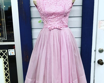 1960's Prom dress.