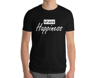 Share Happiness T-Shirt - White Edition
