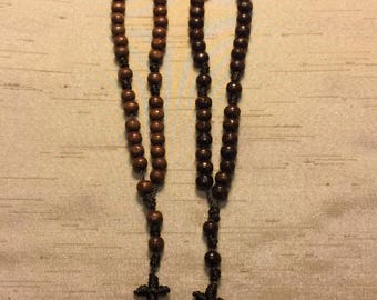 Wood Bead Anglican/Christian Prayer Beads