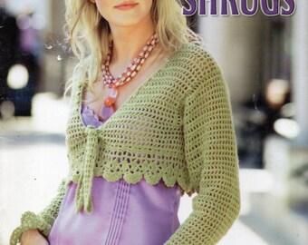 Womens Crochet Pattern Womens Crochet Shrug Ladies Crochet Shrug Crochet Cardigan Lacy Shrug Lacy Crochet 28-42 inch DK PDF Instant Download