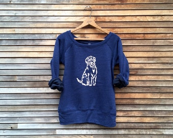 close to my heart Wheaten Terrier Top, Labradoodle Top, Goldendoodle Shirt, Yoga Pullover, Cozy Sweater, Dog Lover Gift, S,M,L,XL,2XL