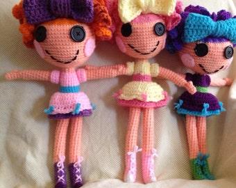 Lalaloopsy Lookalike Crochet Stuffed Doll