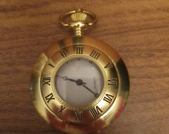 Gold Colour Pocket Watch