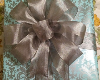 Customizable Solid Color, One Ribbon Bow