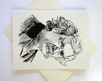Mark Twain Note Cards Set of 10 with Matching Envelopes