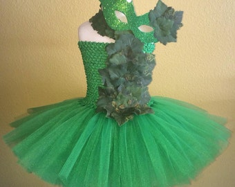 Poison ivy tutu dress