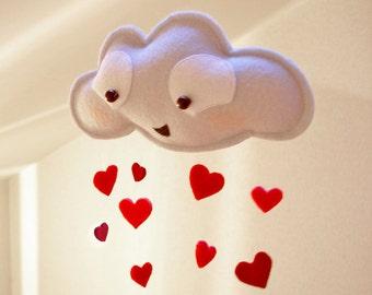 Lovellaby  - Rain cloud mobile-