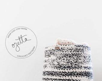 Crochet Pattern - Chunky Crochet Storage Basket, Nursery Room Organization, Home Decor - The Vail Basket