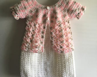 Spring dress/sweater set