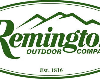 Remingon Vinyl Decal