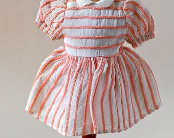 Authentic Antique 1950s Bleuette doll SFBJ Jumeau Dress from BillyBoy* Collection La Semaine de Suzette Gautier-Langereau or Pattern France
