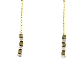 Birdhouse Jewelry - Long Line Earrings