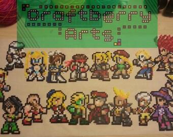 Street Fighter V Original Perlers