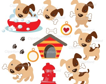 INSTANT Download.  Dogs clip art. Pet clip art. Cd_11. Personal and commercial use.