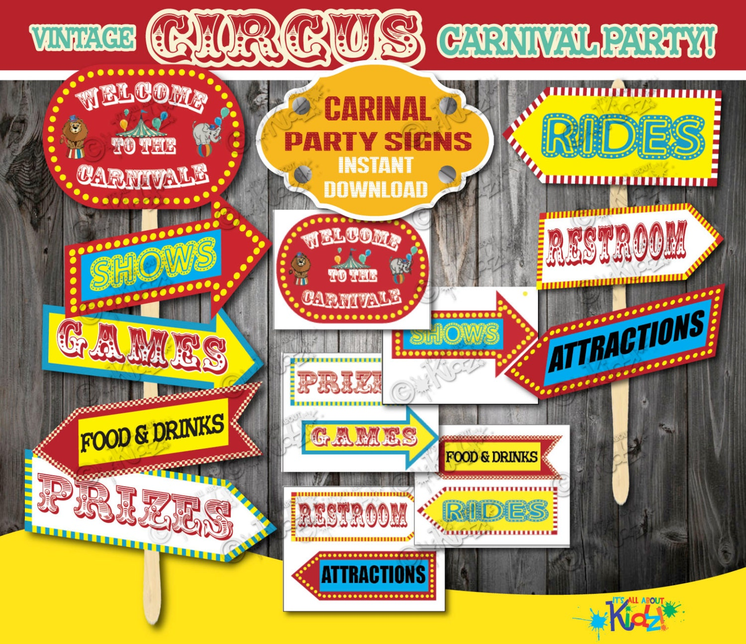 toys price decorating party birthday circus games decorations kit com dp fisher decor amazon room