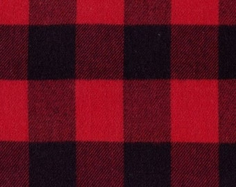 Primo Plaid Flannel Classics Tartans Red J372-0111 from Marcus by the yard