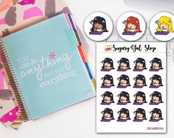 Lady D BBQ Planner Stickers Sheets