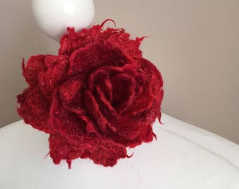 Wool Felted Brooch