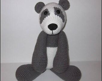 Haakpatroon - Frankie de Grote knuffel Panda
