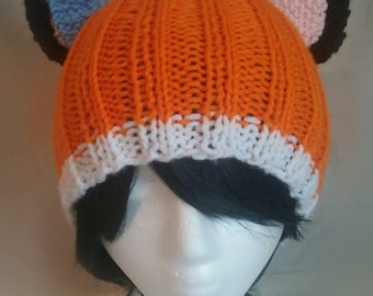 Fox Hat With Bow