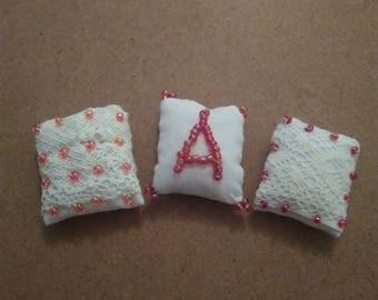 Miniature pillows