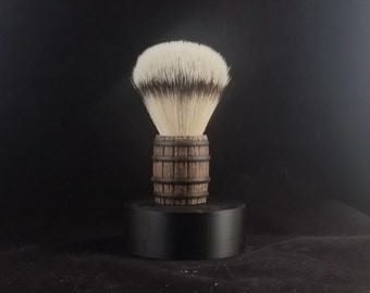 3D printed Whiskey Barrel Shave Brush